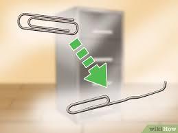 باز کردن قفل کمد فایل اداری با گیره کاغذ